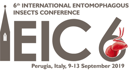 6th International Entomophagous Insects Conference, 09-13 September 2019, Perugia, Italy